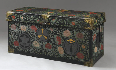 A Large Lacquer Trunk (Nagamoc