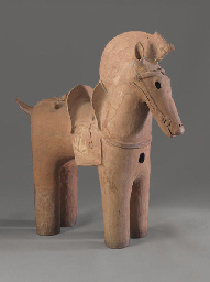 A Haniwa Model of A Horse