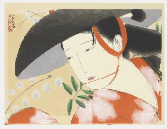 Fuji musume (The wisteria maid