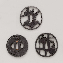 Two Higo Tsuba and an Echizen