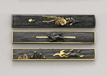 Three Waki-Goto School Kozuka