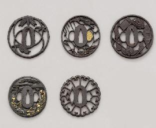 Five Iron Sukashi Tsuba