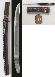 A Hasebe School Tanto in Mount