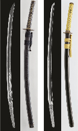 A Yasutsugu Katana in Mounts a