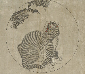 Tiger and magpie (Hojakdo)