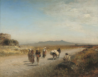 Travellers on the Roman Campag