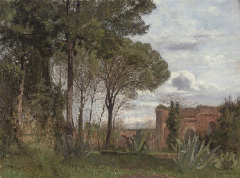 Ruins in the Roman Campagna