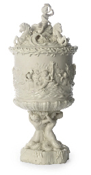 A BELLEEK PRINCE OF WALES ICE-