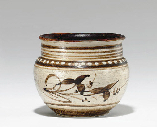 A SMALL JIZHOU PAINTED JAR