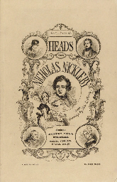 [NICHOLAS NICKLEBY].  MEADOWS,
