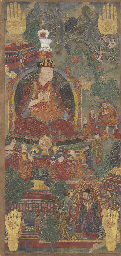 An Rare Thangka of the Fifth K
