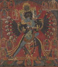 A Thangka of Hevajra
