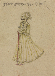 Siyah Kalam of a courtier