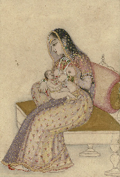 A Lady Breastfeeding an Infant