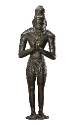 A large bronze figure of Chand
