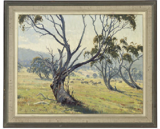 Landscape, North of Cooma, Aus