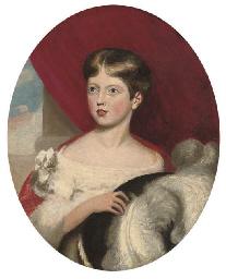 Portrait of Princess Victoria,