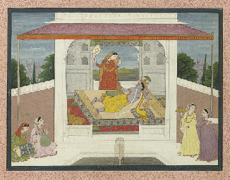 An illustration to the Krishna
