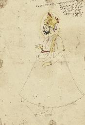 A drawing of Maharaja Surat Si