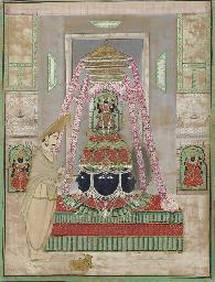 Eklingji at the royal temple o