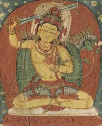 Tsakli of Manjushri