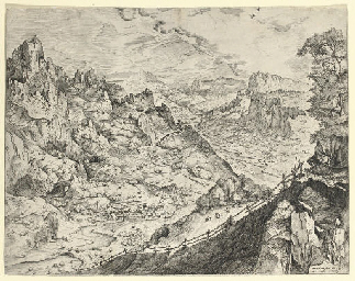Large Alpine Landscape (Holl.