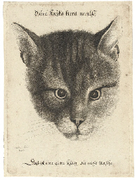 Head of a Cat (Pennington 2109