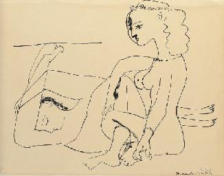 Femmes sur la Plage (B. 452; M