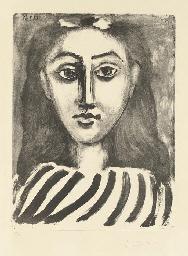 Tête de jeune Fille (B. 589; M
