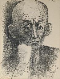Portrait de D. H. Kahnweiler (