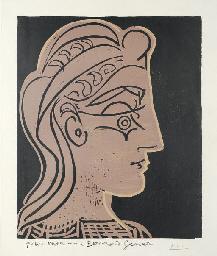 Tete de Femme (B. 905; Ba. 124