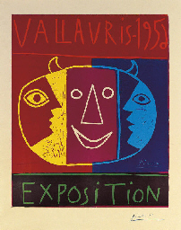 Vallauris 1956 Exposition (B.