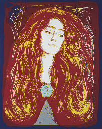 Eva Mudocci (after Munch) (F.