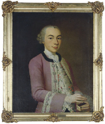 Portrait of Joseph Geyger, wea