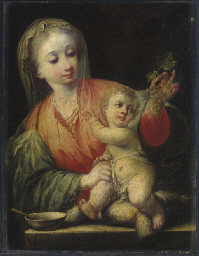 Madonna of the grapes