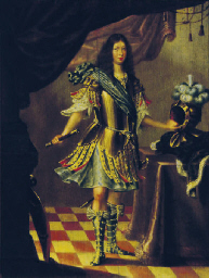 Portrait of a nobleman, standi