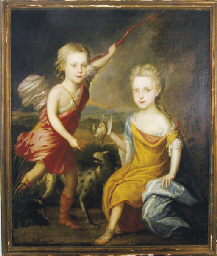 Children in classical dress, h