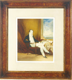 Portrait of a seated gentleman