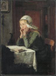 Saying her prayers