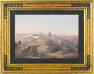 View of Jerusalem; and a compa