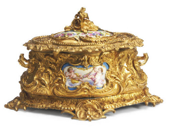 A ORMOLU-MOUNTED SÈVRES STYLE
