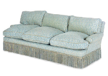AN THREE-SEATER SOFA,