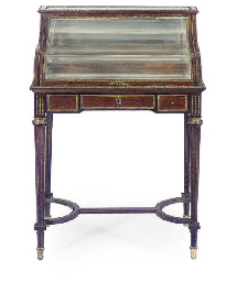 A GILT-METAL MOUNTED MAHOGANY