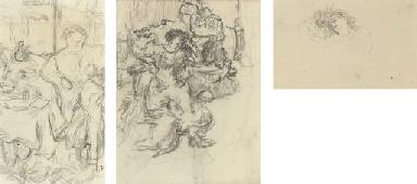 La mère de Vuillard accoudée à
