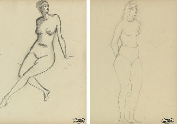 Femme nue assise aux jambes cr