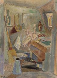 Intérieur de cuisine à Gordes