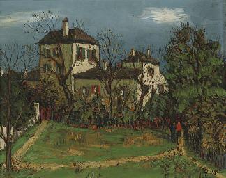 Les talus, rue Cortot