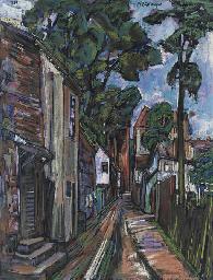 Straße im Dorf