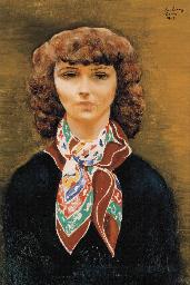 Portrait de Madeleine Lebeau