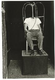 Headless man, N.Y.C. 1961